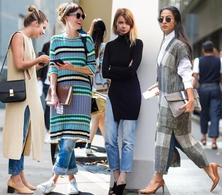Plastenje z obleko na vrhu je še dalje eden izmed najprivlačnejših trendov.