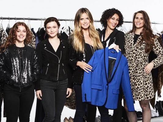 Esmara by Heidi Klum_Heidi and the girls. Key piece - The blazer in electric blue_s