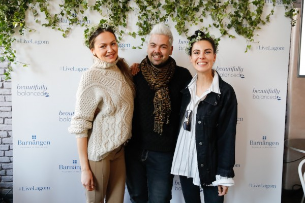 Iryna Osypenko Nemec, Nejc Simšič in Ula Furlan