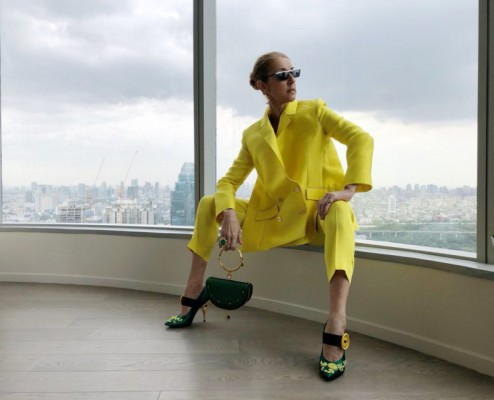 "Celine Dion releases a photo on Twitter with the following caption: """"Beautiful Bangkok...unforgettable. / Bangkok... magnifique et inoubliable. - Céline xx…